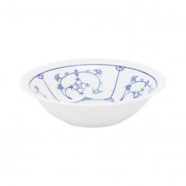 Kahla Blau Saks - Indisch Blau - Stohblumenmuster Dessertschale 13 cm