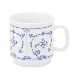 Kahla Blau Saks - Indisch Blau - Stohblumenmuster Kaffeebecher 0,30 L
