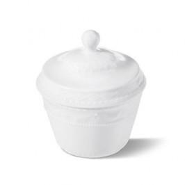 KPM Kurland weiß Zuckerdose 0,18 l