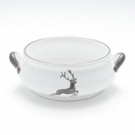 Gmundner Keramik Grauer Hirsch Suppenschale 0,37 L / h: 5,9 cm