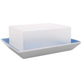 Arzberg Tric blau Butterdose (Kunststoffdeckel transparent) 250 G
