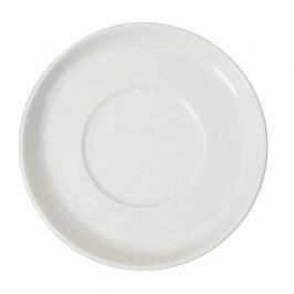 Arzberg Cucina Bianca weiß Café au lait Untertasse 17 cm