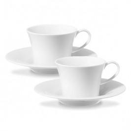KPM Berlin weiß Espresso-Set 4-tlg.