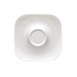 Rosenthal studio-line Free Spirit weiss Espresso Untertasse quadratisch 10,5 cm