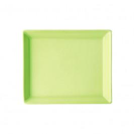 Arzberg Tric grün Servierplatte rechteckig 12x15 cm