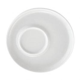 Kahla Five Senses weiß Untertasse f. Kaffee-,Cappu-,Macchiato-,Cafe au lait Obertas 16 cm