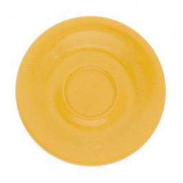 Kahla Pronto Colore orangegelb Espresso Untertasse 12 cm