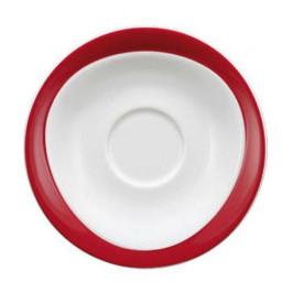 Seltmann Weiden Trio rubinrot Frühstücks Untertasse 17,5 cm