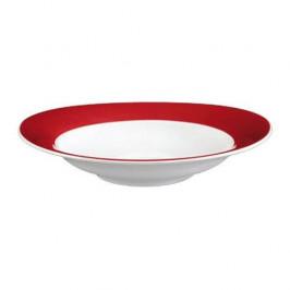 Seltmann Weiden Trio rubinrot Suppenteller 23 cm
