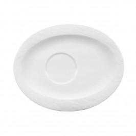 Seltmann Weiden Allegro weiss Kombi-Untertasse oval 19 x 15,5 cm