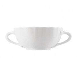 Hutschenreuther Maria Theresia weiss Suppen Obertasse 0,28 L