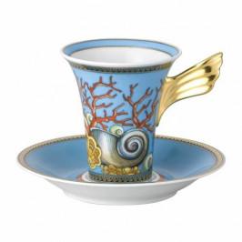Rosenthal Versace Les Trésors de la Mer Kaffeetasse 2 tlg. 0,18 L