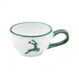 Gmundner Keramik Grüner Hirsch Mokka-/Espresso-Obertasse glatt 0,06 L / h: 4,1 cm