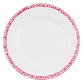 Gmundner Keramik Selektion Rubinrot Frühstücksteller Gourmet 22 cm