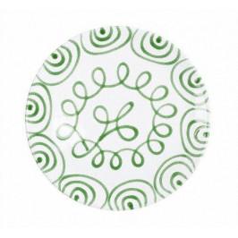 Gmundner Keramik Grüngeflammt Platzteller Cup d: 32 cm / h: 2,2 cm