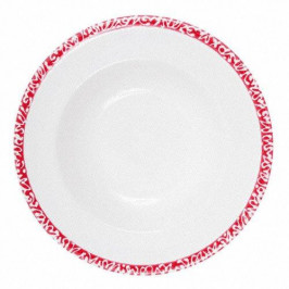 Gmundner Keramik Selektion Rubinrot Suppenteller Gourmet 24 cm