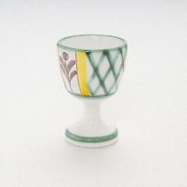 Gmundner Keramik Jagd Eierbecher glatt h: 6 cm