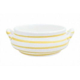 Gmundner Keramik Gelbgeflammt Suppenschale 0,37 L / h: 5,9 cm
