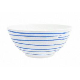 Gmundner Keramik Blaugeflammt Schüssel d: 23 cm / 1,5 L