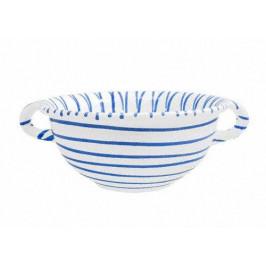 Gmundner Keramik Blaugeflammt Weitling d: 25 cm / 2,0 L
