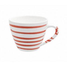 Gmundner Keramik Rotgeflammt Kaffee-Obertasse Gourmet 0,2 L / h: 7,5 cm