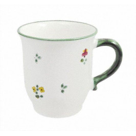Gmundner Keramik Streublumen Schoko Obertasse 0,3 l
