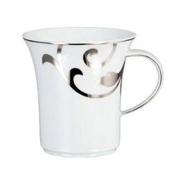 Königlich Tettau Jade Garbo Platin Kaffee Obertasse 0,21 l