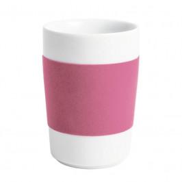 Kahla Five Senses touch Banderole Maxi-Becher rosa 0,35 L