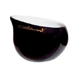 Luigi Colani Porzellan  'Ab ovo Black & White' Zuckerschale groß black 0,17 L