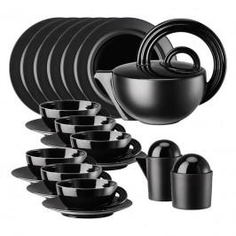 Rosenthal studio-line Cupola - Porcelaine noire Teeset schwarz 21-tlg. - limitiert auf 49 Stück