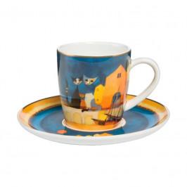 Goebel Rosina Wachtmeister - Table Top Espressotasse 2-tlg. I colori del tramonto h: 7 cm / 0,1 L