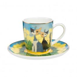 Goebel Rosina Wachtmeister - Table Top Espressotasse 2-tlg. Primavera h: 7 cm / 0,1 L
