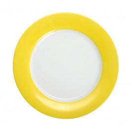 Kahla Pronto Colore zitronengelb Brunch-Teller flach 23 cm