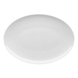 Thomas Loft weiss Platte oval / Teller 34 cm