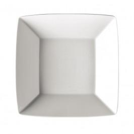 Thomas Loft weiss Platte / Teller quadratisch tief 22 cm