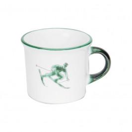Gmundner Keramik Toni Grün Kaffee Häferl glatt 0,24 L