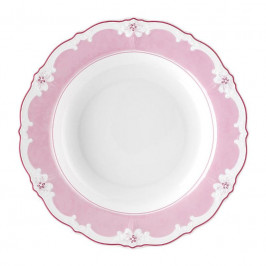 Hutschenreuther Baronesse Estelle Pink - Solid Suppenteller Fahne 24 cm