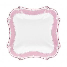 Hutschenreuther Baronesse Estelle Pink - Grid Schüssel eckig 20 cm / 0,64 L