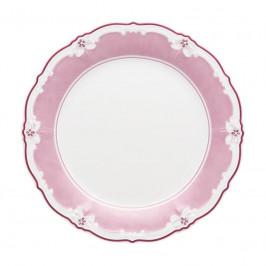 Hutschenreuther Baronesse Estelle Pink - Grid Brotteller Fahne 17 cm