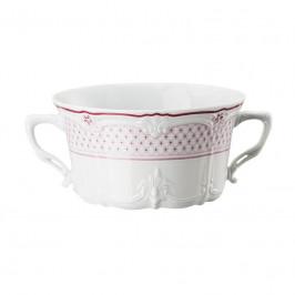 Hutschenreuther Baronesse Estelle Pink - Grid Suppen-Obertasse 0,34 L