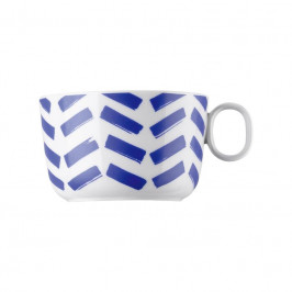 Thomas ONO friends - Blue Lines Cappuccino-Obertasse 0,28 L
