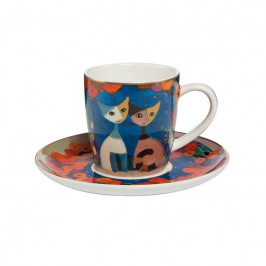 Goebel Rosina Wachtmeister - Table Top Espressotasse 2-tlg. Papavera h: 7 cm / 0,1 L