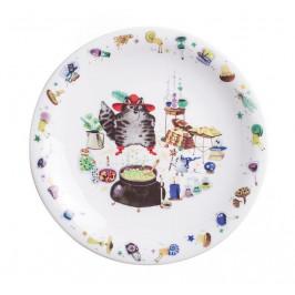 Kahla Kids - Gestiefelter Kater Teller flach / Frühstücksteller 21,5 cm