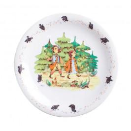 Kahla Kids - Hänsel und Gretel Teller flach / Frühstücksteller 21,5 cm