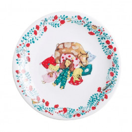 Kahla Kids - Dornröschen Teller flach / Frühstücksteller 21,5 cm