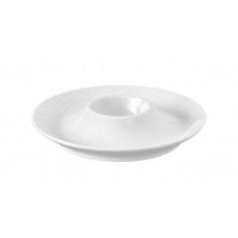 Seltmann Weiden Life Fashion - Luxury White Eierbecher mit Ablage 13 cm