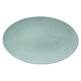Seltmann Weiden Life Fashion - Green Chic Servierplatte oval 40x26 cm