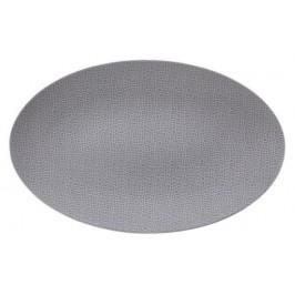 Seltmann Weiden Life Fashion - Elegant Grey Servierplatte oval 40x26 cm
