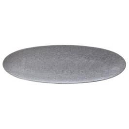 Seltmann Weiden Life Fashion - Elegant Grey Servierplatte schmal 44x14 cm