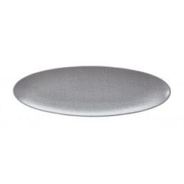 Seltmann Weiden Life Fashion - Elegant Grey Servierplatte schmal 35x12 cm